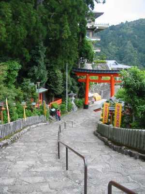熊野那智大社、石段