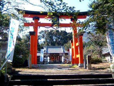 丹生官省符神社(にゅうかんしょうふじんじゃ)正門